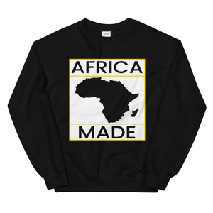Africa Made (White & Gold) Sweatshirt