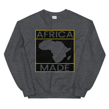 Load image into Gallery viewer, Africa Made (Gold) Sweatshirt