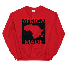 Load image into Gallery viewer, Africa Made (Red) Sweatshirt