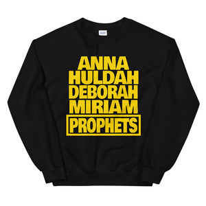 Bible Female Prophets Sweatshirt