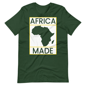 Africa Made (White & Gold)