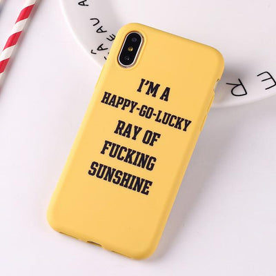 Ray of Sunshine Case (Pink/ Black/ Yellow) - Belacase Ave.