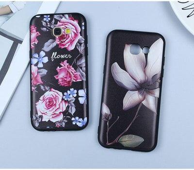 Pink Rose Flower Case - Belacase Ave.