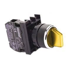 EMAS Yellow Multipole Selector Switch - B101SL30S (II-0-I) 2 NO