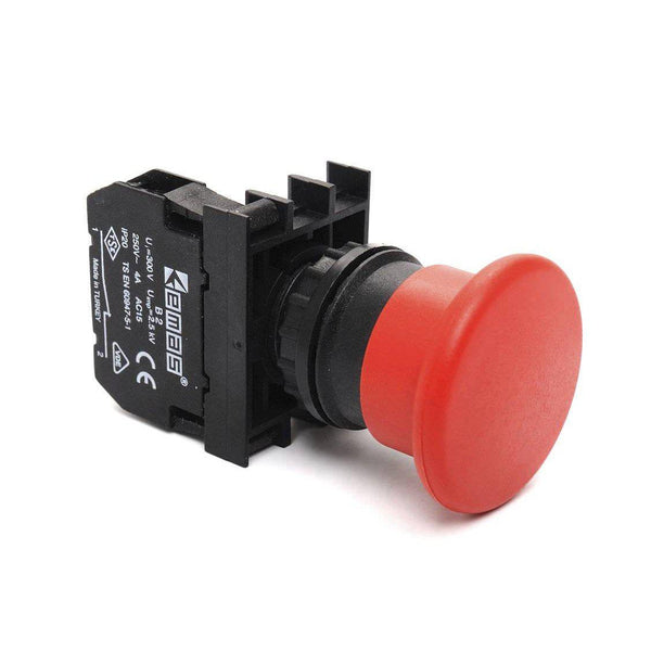 Emergency Stop Button - B200E - 40mm - 1 NC