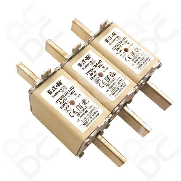 NH - GG Centered Tag Fuse 500VAC 125A | 125NHG01B