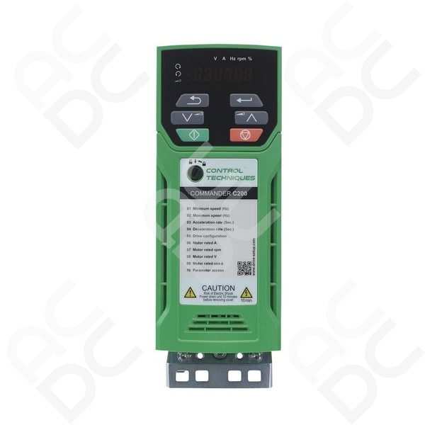 1.5kW Inverter 415VAC 3Ph - Commander C200