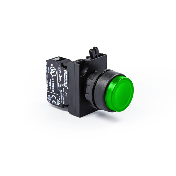 Extended Green Push Button - CP200HY - IP65 - 1 NC