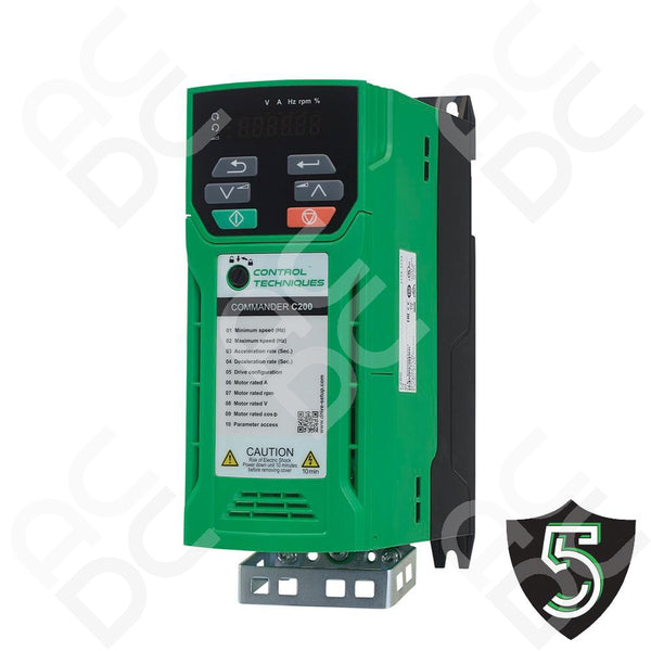 0.37kW Inverter 415VAC 3Ph - Commander C200