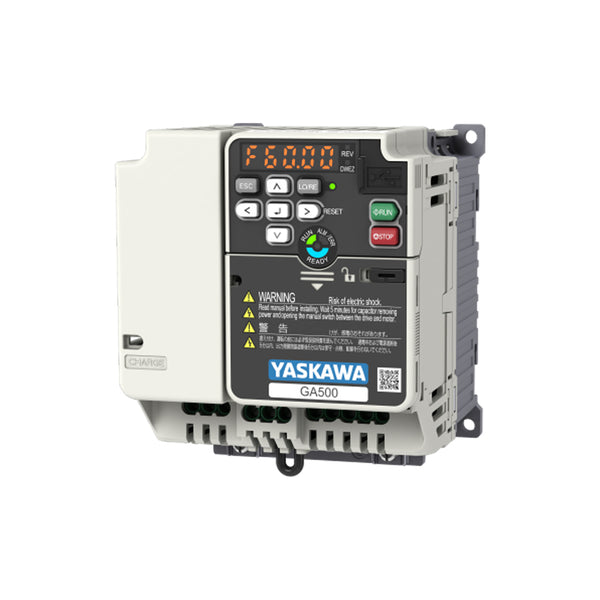 2.2kW HD/ 3.0kW ND Inverter 230VAC 1Ph - Yaskawa GA500 - GA50CB012EBA
