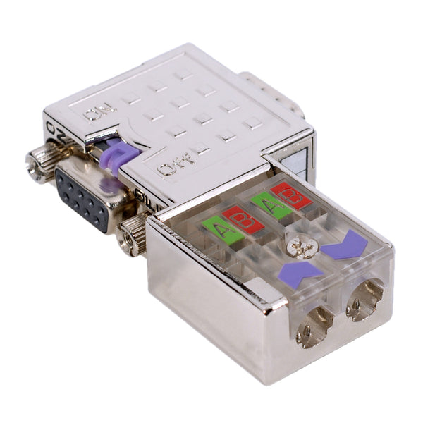 Profibus Connector w- LEDS - 90 Degree VIPA 972-0DP10