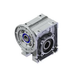 7:1 | 200rpm | 14Nm For 0.37kW B14 Motor Square Worm Gearbox