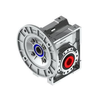 61:1 | 23rpm | 25Nm For 0.12kW B5 Motor Square Worm Gearbox