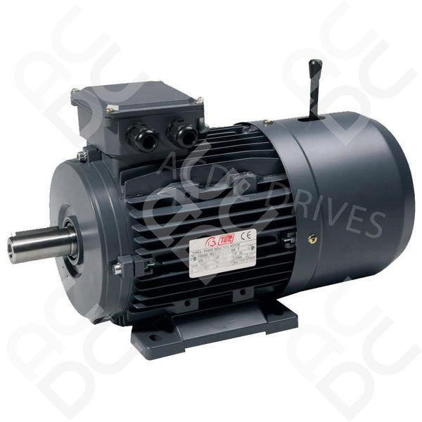 4.0KW Brake Motor - 2P - TEC (Select Mounting)