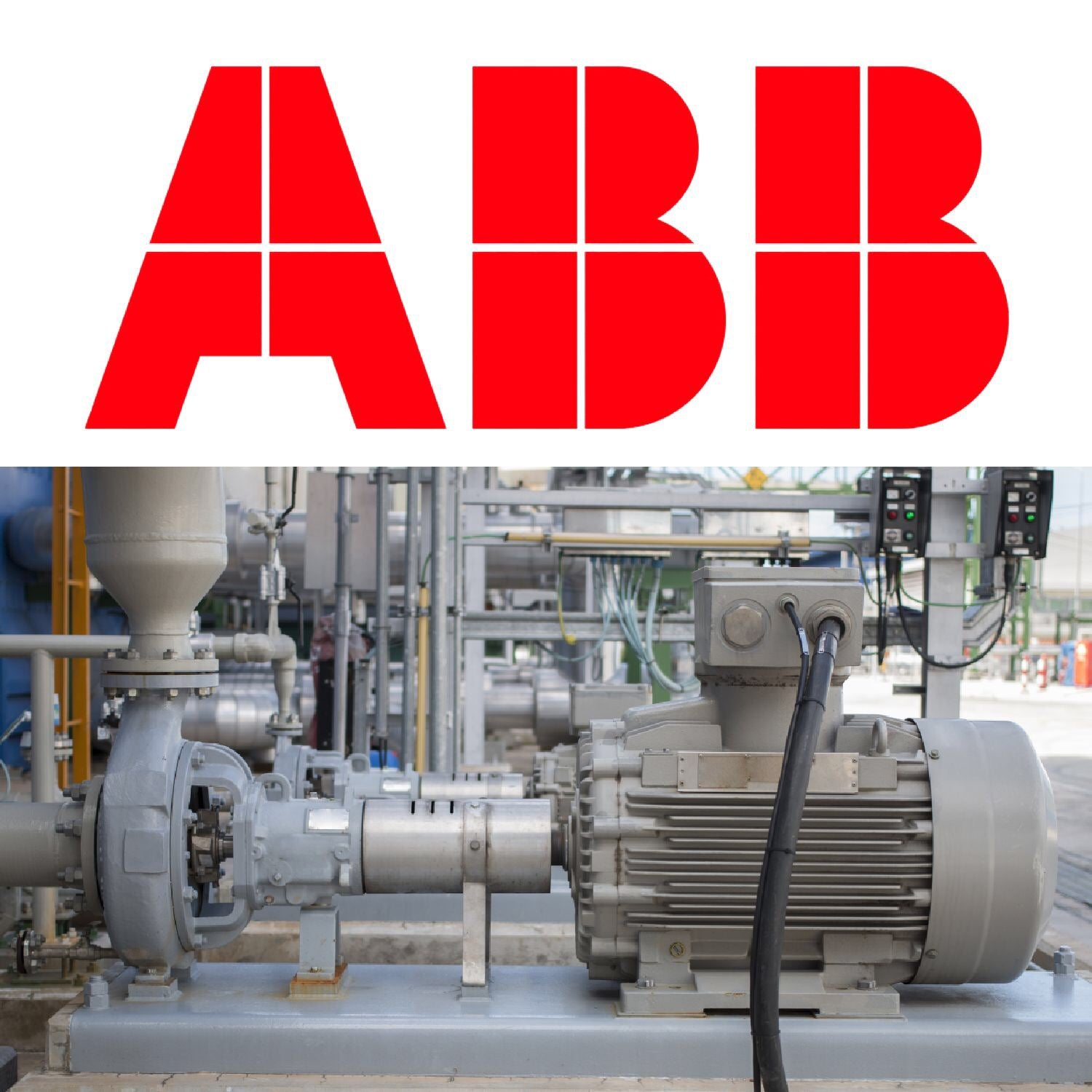 ABB logo With Drive And Motor