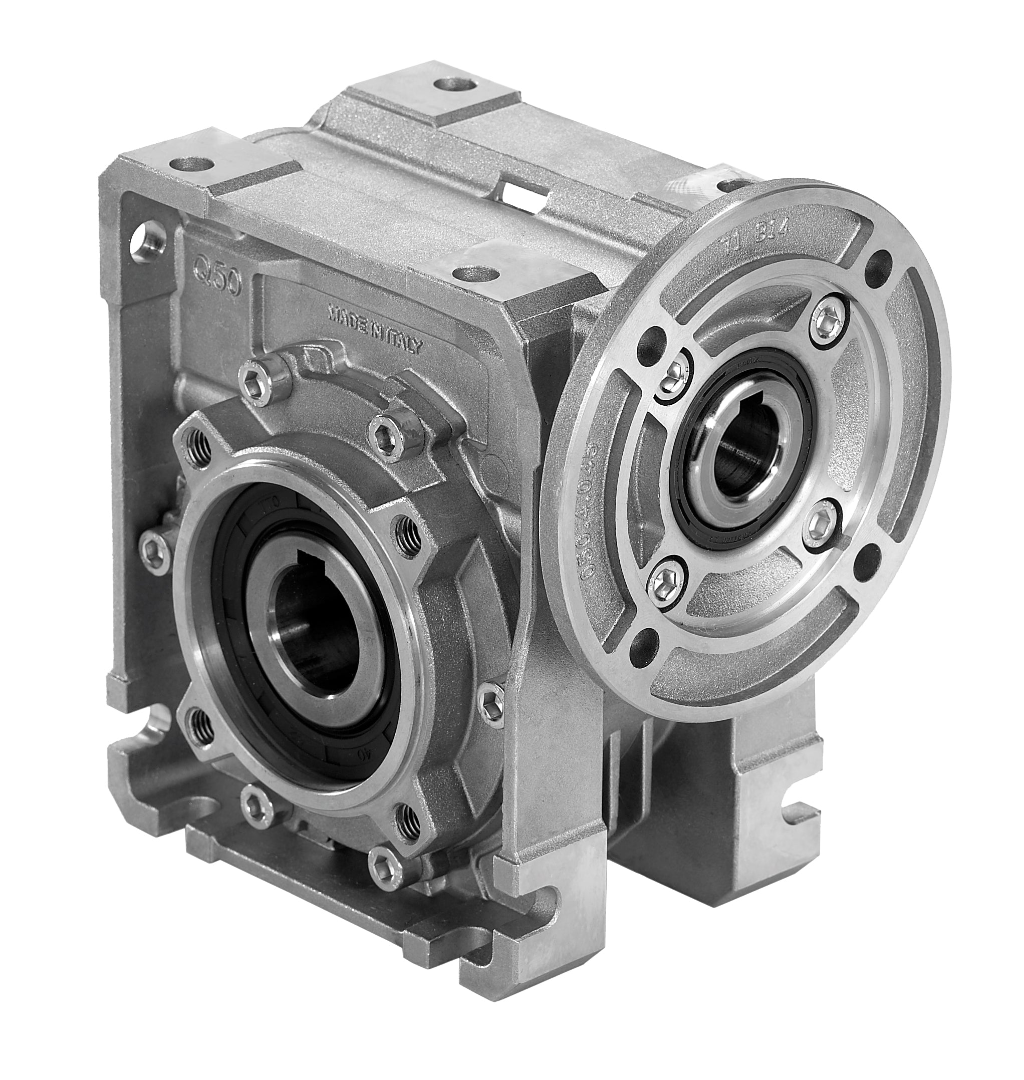 Hydro-Mec Square Frame Worm Gearbox