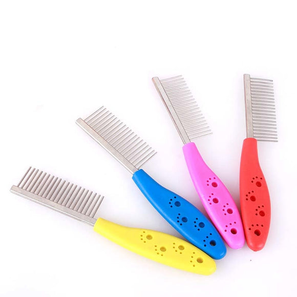 Stainless Steel Dog Comb for Hair Removal