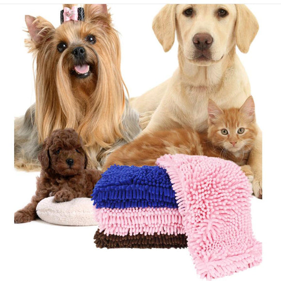 Absorbent Fibre Pet Towel