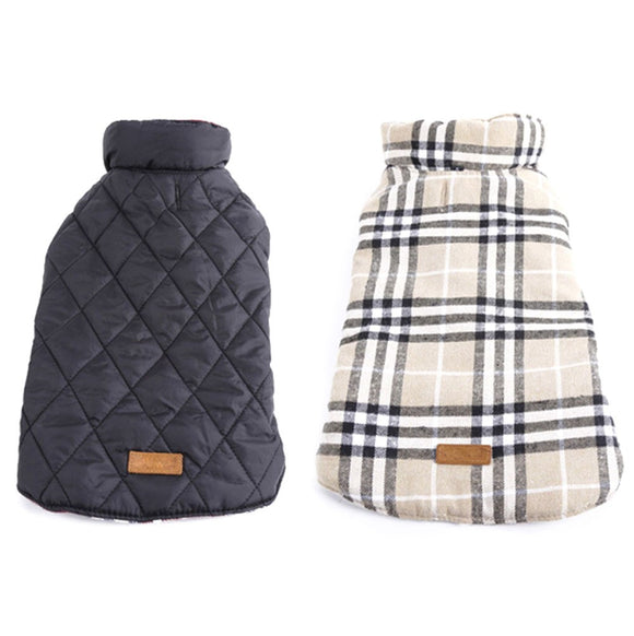 Reversible Cosy Dog Jacket
