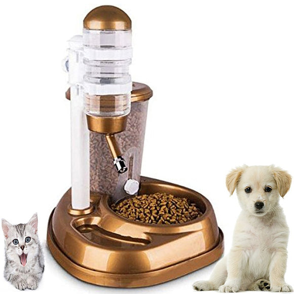 2 in 1 Automatic Large Capacity Dog Feeder