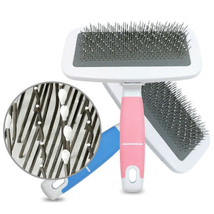 Grooming Dog Brush with Handle