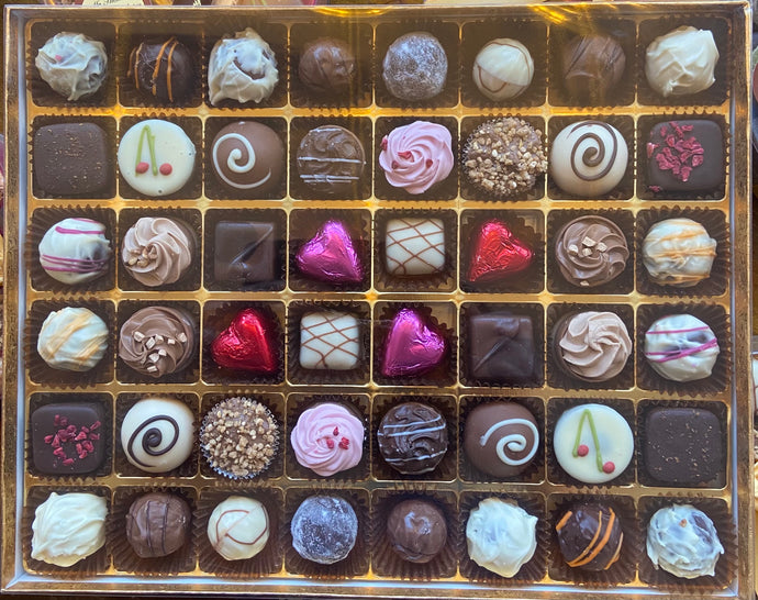 Handmade chocolate box 48s