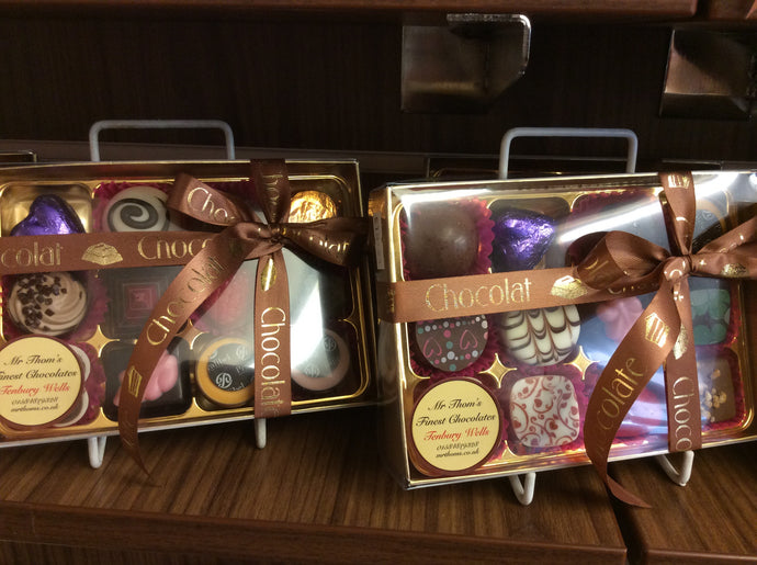 12 chocolate box of handmade Belgian chocolates