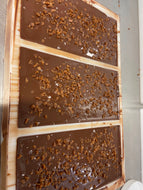 Handmade 54% Dark Chocolate and Orange Bars 100g