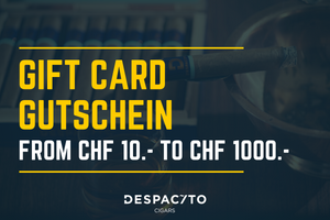 Despacito Cigars Gutschein / Gift Card