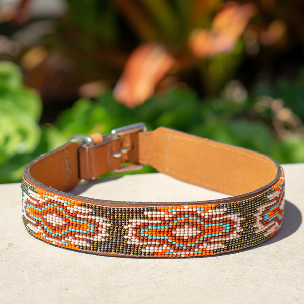 Boho Chic Sambboho dog collar