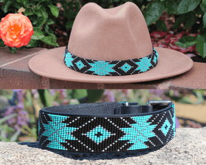 Saint Barth dog collar/hatband bundle
