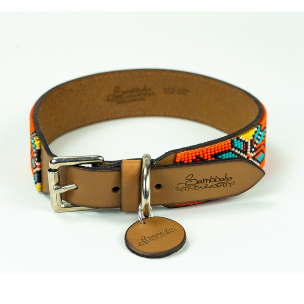 Maui Sambboho dog collar (made to order)