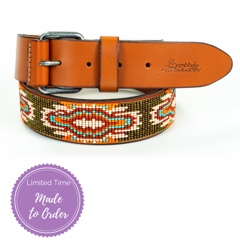 Boho Chic Sambboho Women's Belts (Made to Order)