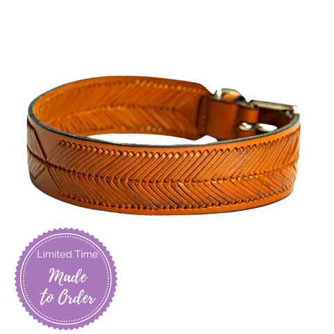 Java Sambboho dog collar (made to order)
