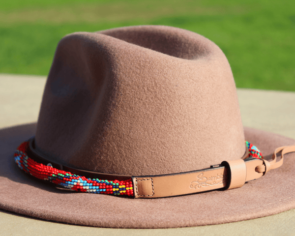 Red Vogue Sambboho Hatband