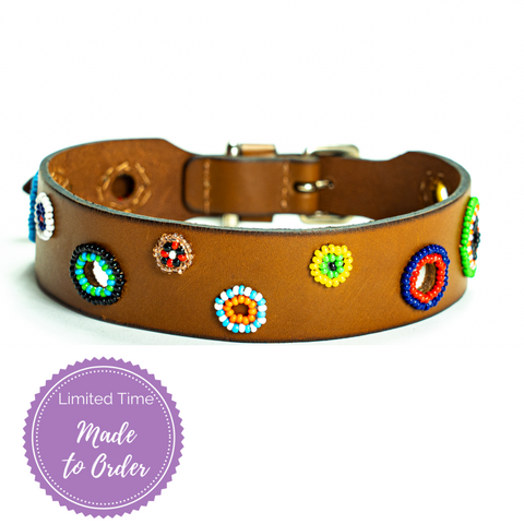 Miami Sambboho dog collar (made to order)