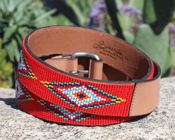 Red Vogue Sambboho Women's Belts