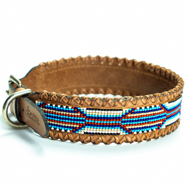 Rio Sambboho dog collar (made to order)