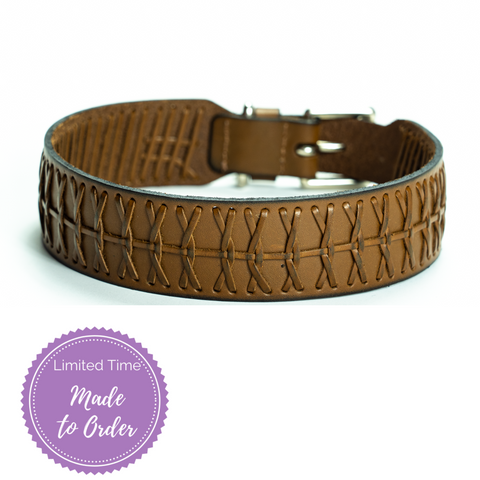 Rome Sambboho dog collar (made to order)