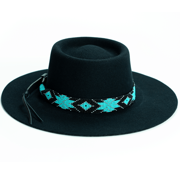 Brigitte Sambboho Hat & Saint Barth Hatband Bundle