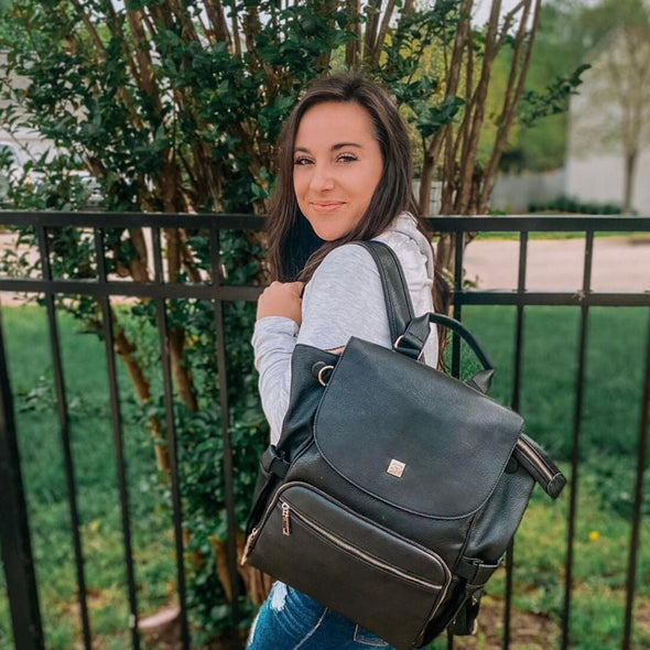 The Kaitlyn Diaper Bag Backpack - Sleepy Panda