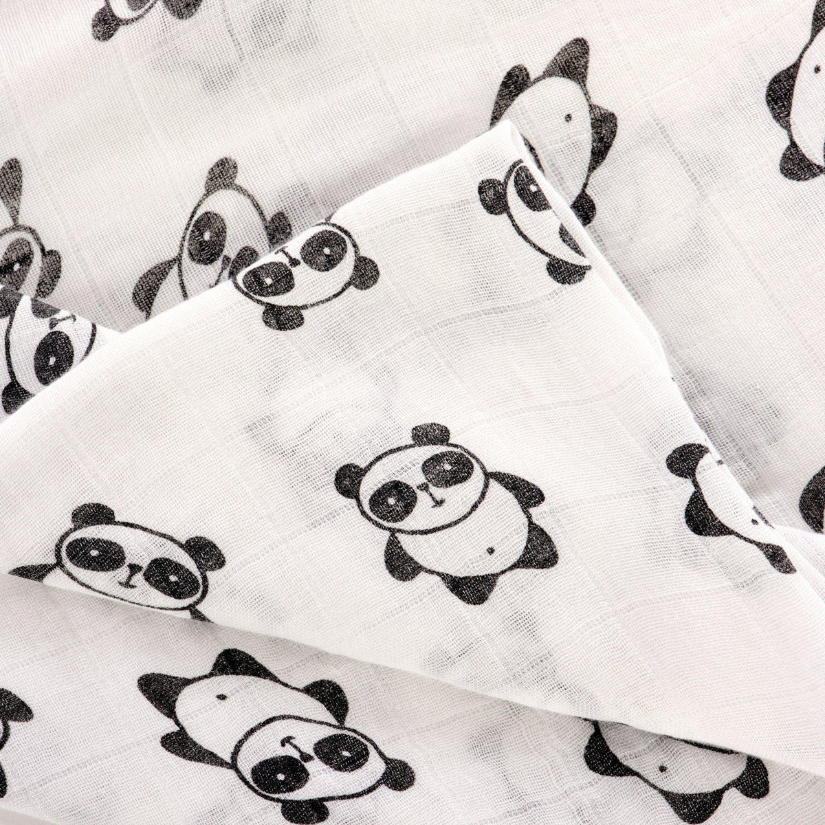 Swaddle Pack - Bamboo - Sleepy Panda diaper bag backpack stroller straps changing pad