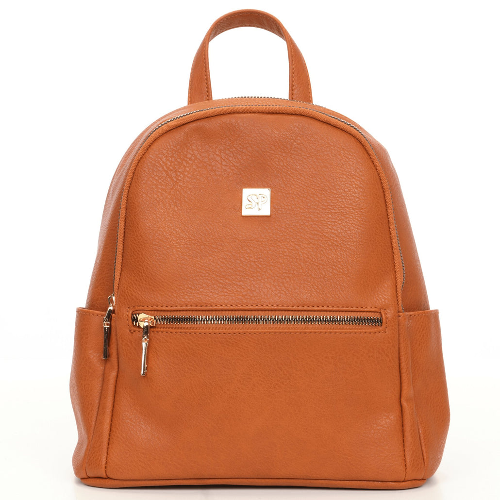 Mini Vegan Leather Backpack