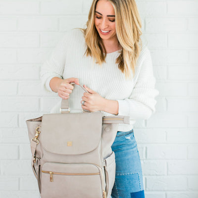 Bailey Vegan Leather Backpack