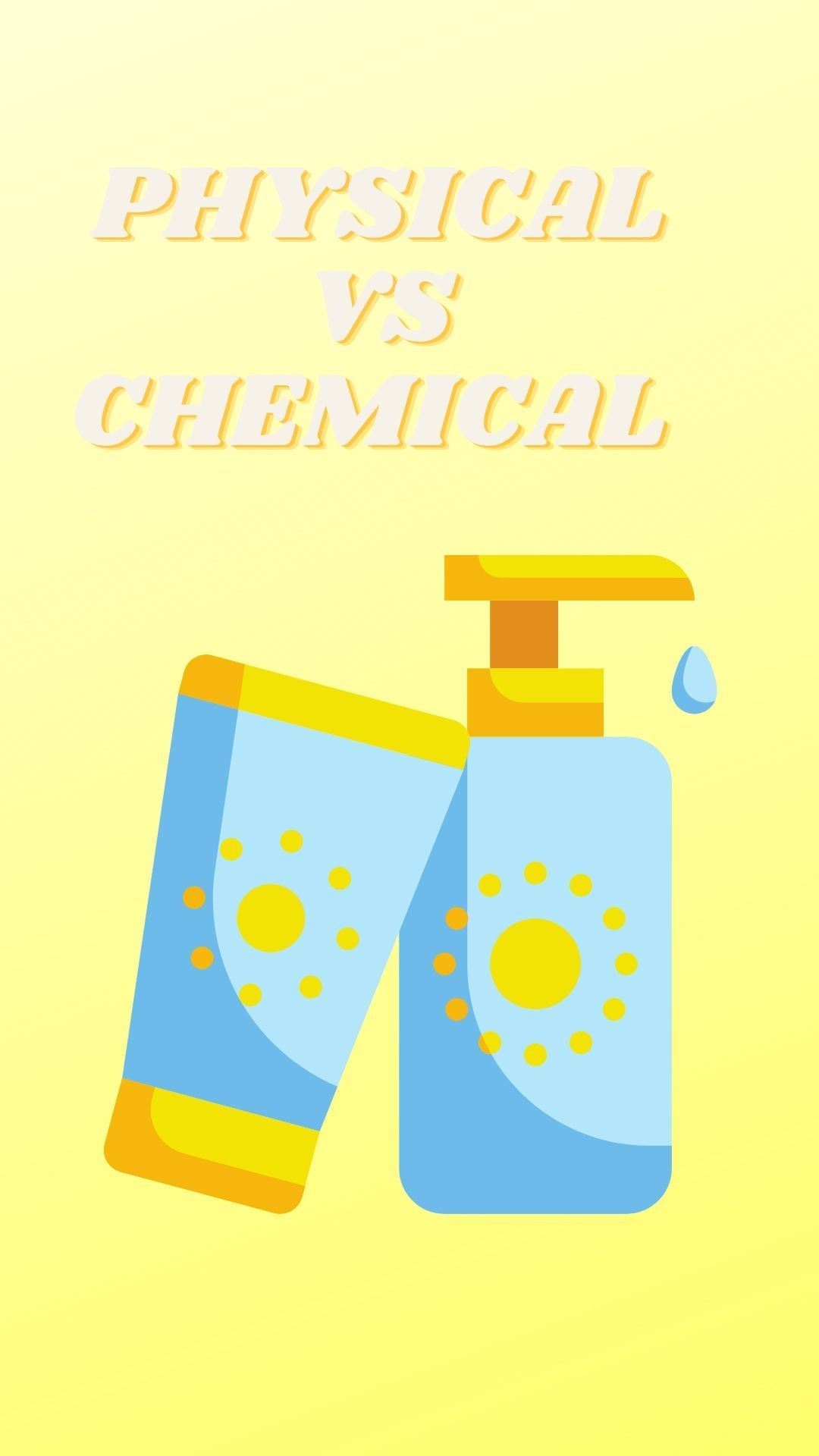 Physical vs Chemical sunscreen, which should you use?