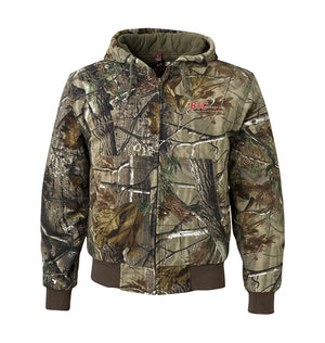 DRI DUCK - Cheyenne Hooded Boulder Cloth™ Jacket with Tricot Quilt Lining