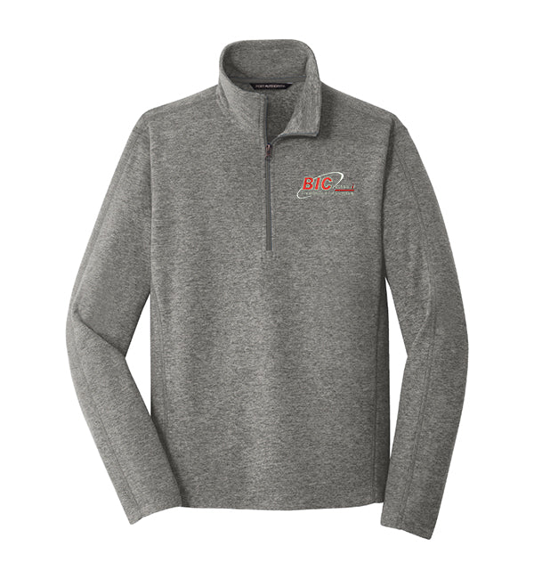Port Authority® Heather Microfleece 1/2-Zip Pullover