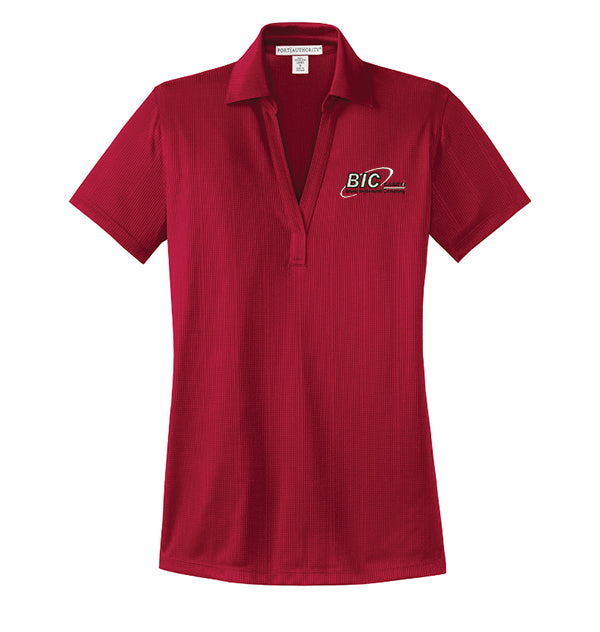 Port Authority® Ladies Performance Fine Jacquard Polo