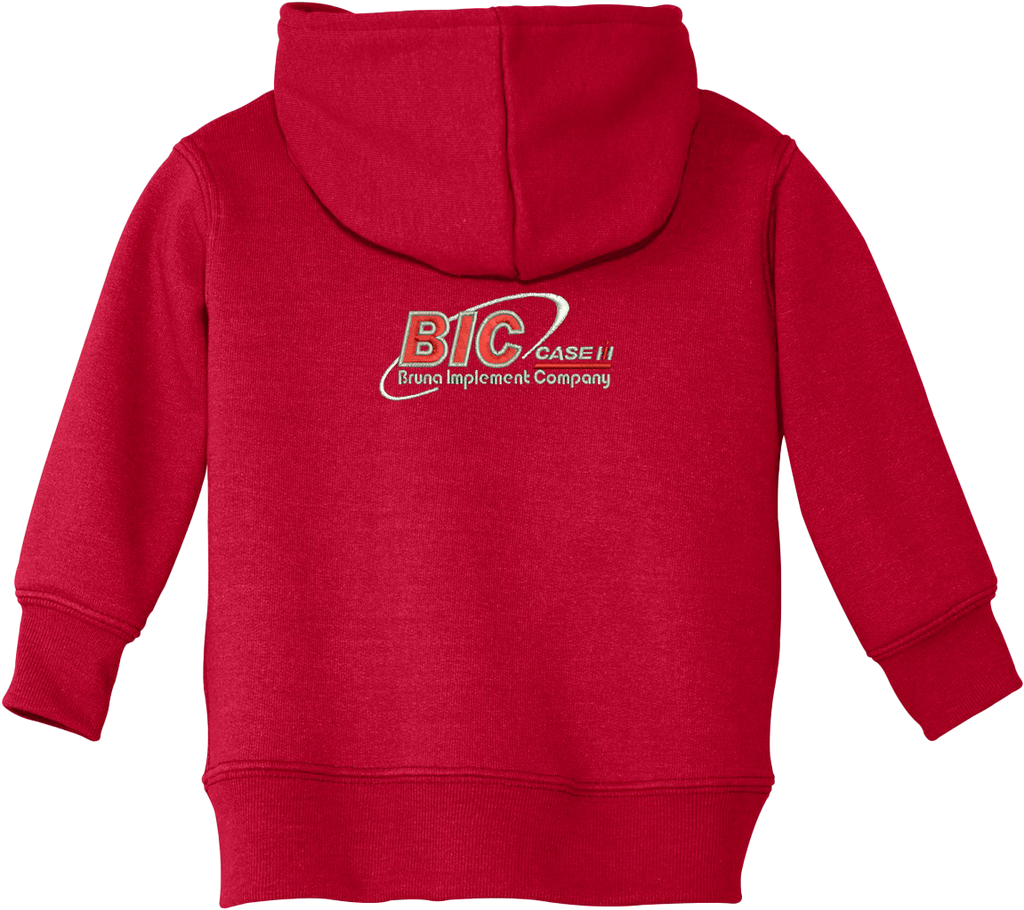 Port & Company® Infant Core Fleece Full-Zip Hooded Sweatshirt
