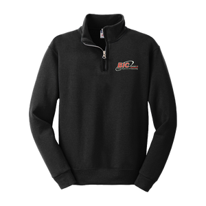 Youth NuBlend® 1/4-Zip Cadet Collar Sweatshirt
